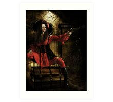 Stand & Deliver- The Highwaywoman Art Print