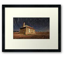 TRails Of Ruin Framed Print