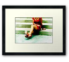 The Stoplight  Framed Print