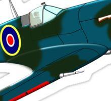 Supermarine Spitfire, T-shirt, etc. design Sticker