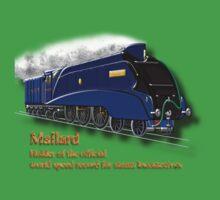 Mallard the Fastest Steam Locomotive T-shirt, etc. design Kids Clothes