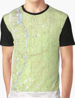 USGS Topo Map Washington State WA Boundary Dam 240167 1967 24000 Graphic T-Shirt