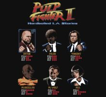 Pulp Fighter II by Filippo Morini