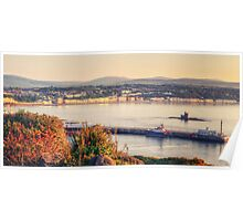 Sunrise over Douglas Bay Poster