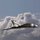 Avro Vulcan - en route by warbirds