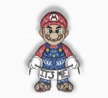 Evil Mario One Piece - Short Sleeve