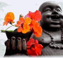 Lucky Buddah by andreajansen