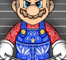 Evil Mario Sticker