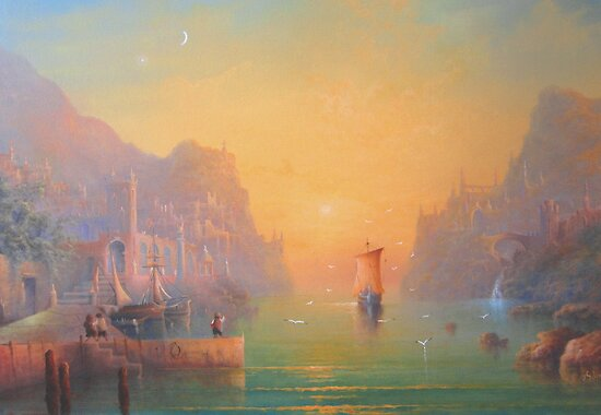 The Grey Havens (Gulls Lament) by Joe Gilronan