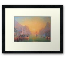The Grey Havens (Gulls Lament) Framed Print