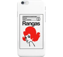 Rangas Matches iPhone Case/Skin