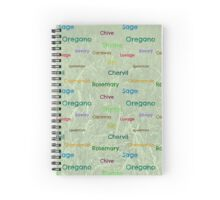 Herbs Spiral Notebook