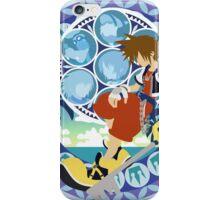 Kingdom Hearts Station (Blue) iPhone Case/Skin