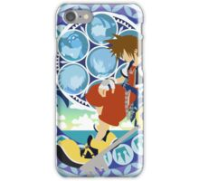 Kingdom Hearts Station (Blue) iPhone Case/Skin