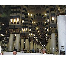 Inner side of the Nabvi Mosque Photographic Print