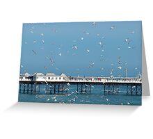 Palace Pier, Brighton, England Greeting Card