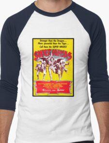 SUPER NINJAS! Men's Baseball ¾ T-Shirt