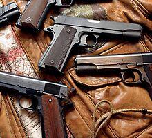 1911 Colt .45 art by mitchcornacchia