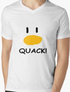 quack quack quack Mens V-Neck T-Shirt