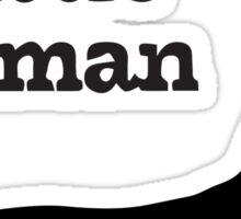 I Know A Little German Dachshund Sticker