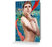 Looking Ahead Semi - Nude Greeting Card