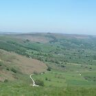 Hope Valley from Mam Tor by Paul  Green