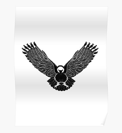 Eagle soldiers - American soldiers Poster