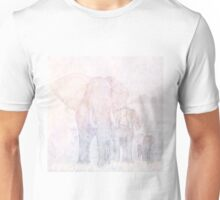 Elephants - Sketch Unisex T-Shirt