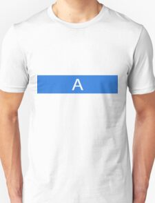 Alphabet Collection - Alpha Blue T-Shirt