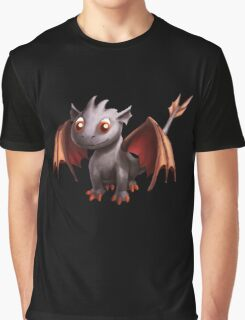 Ash Stone Dragon.  Graphic T-Shirt