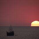 Sunset with Marigalante - Puesta del Sol by PtoVallartaMex