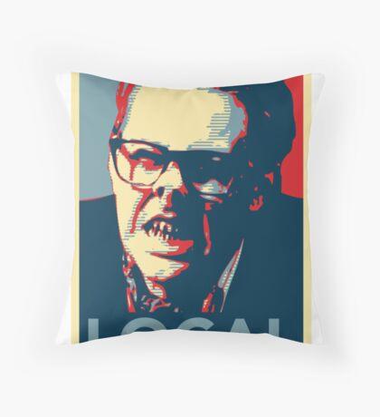 Edward Tattysyrup Throw Pillow