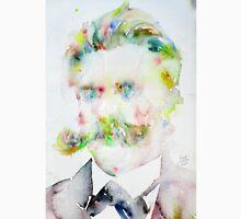 FRIEDRICH NIETZSCHE watercolor portrait.7 Unisex T-Shirt