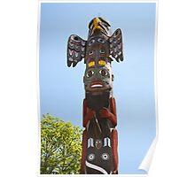 Totem Pole Poster
