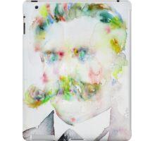 FRIEDRICH NIETZSCHE watercolor portrait.7 iPad Case/Skin