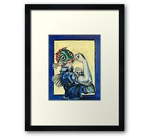 The Fishes Can Do It Framed Print