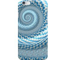 Sky Blue Abstract iPhone Case/Skin