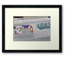 Tony the tagger Framed Print