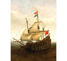 Combat sailboat Photographic Print