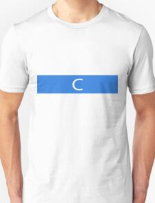 Alphabet Collection - Charlie Blue T-Shirt