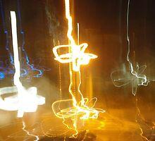 fire sticks by Katriya Kramme
