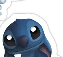 Stitch Loves You. Sticker