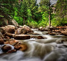 St. Vrain River, Lyons Co by dlosey