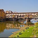 Florence / Ponte Vecchio - Gold Bridge by imagic