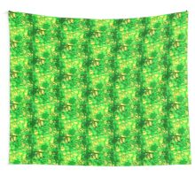 Green Stones Wall Tapestry