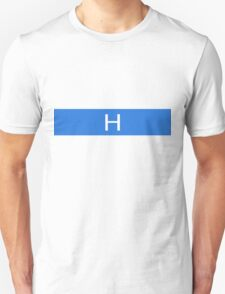 Alphabet Collection - Hotel Blue Unisex T-Shirt