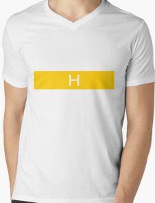 Alphabet Collection - Hotel Yellow Mens V-Neck T-Shirt