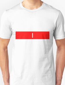 Alphabet Collection - India Red T-Shirt