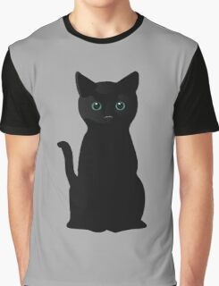 Kitten Eyes Graphic T-Shirt