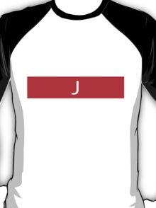 Alphabet Collection - Juliet Red T-Shirt